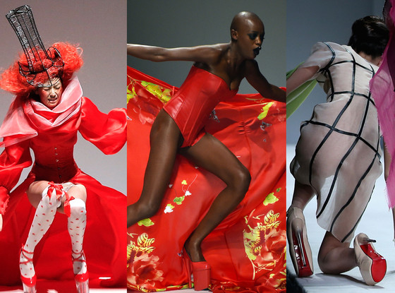 SECCRY Hu Sheguang, Models Falling