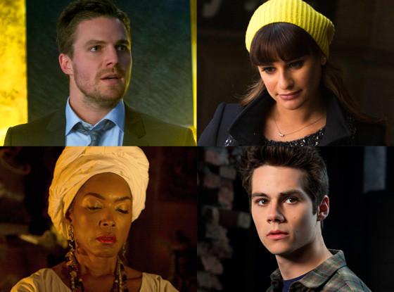 Spolier Shat, Glee, Teen Wolf, American Horror Story, Arrow