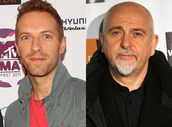Chris Martin, Peter Gabriel