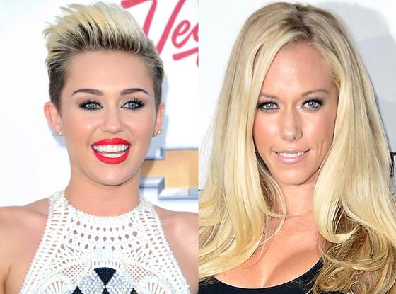 Miley Cyrus, Kendra Wilkinson