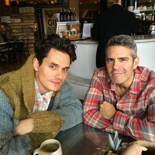 John Mayer, Andy Cohen, Instagram