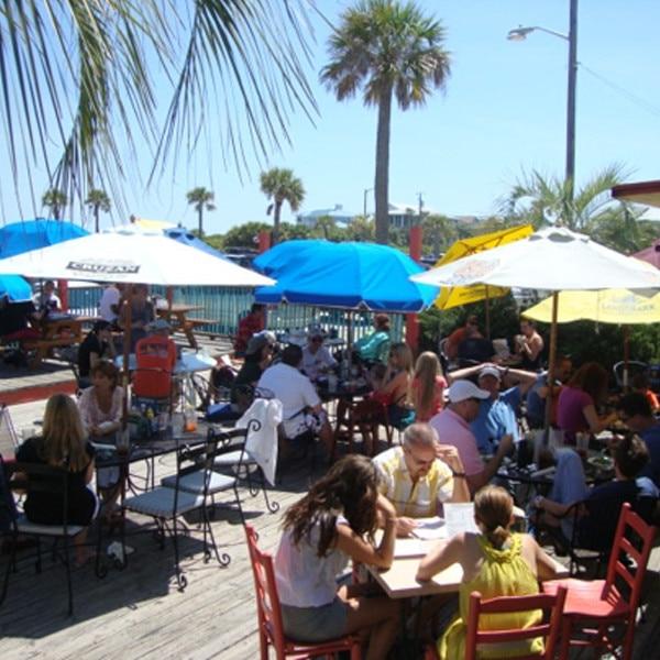 North Beach Bar and Grill, Savannah Georgia Restaurants