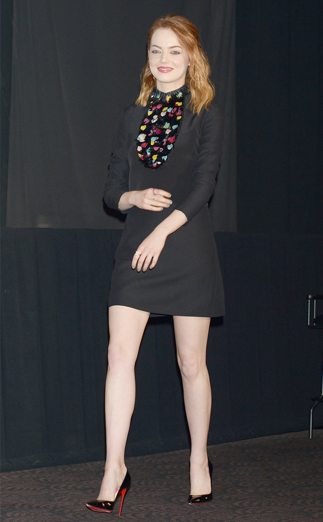 Short & Sweet from Emma Stone's Best Looks