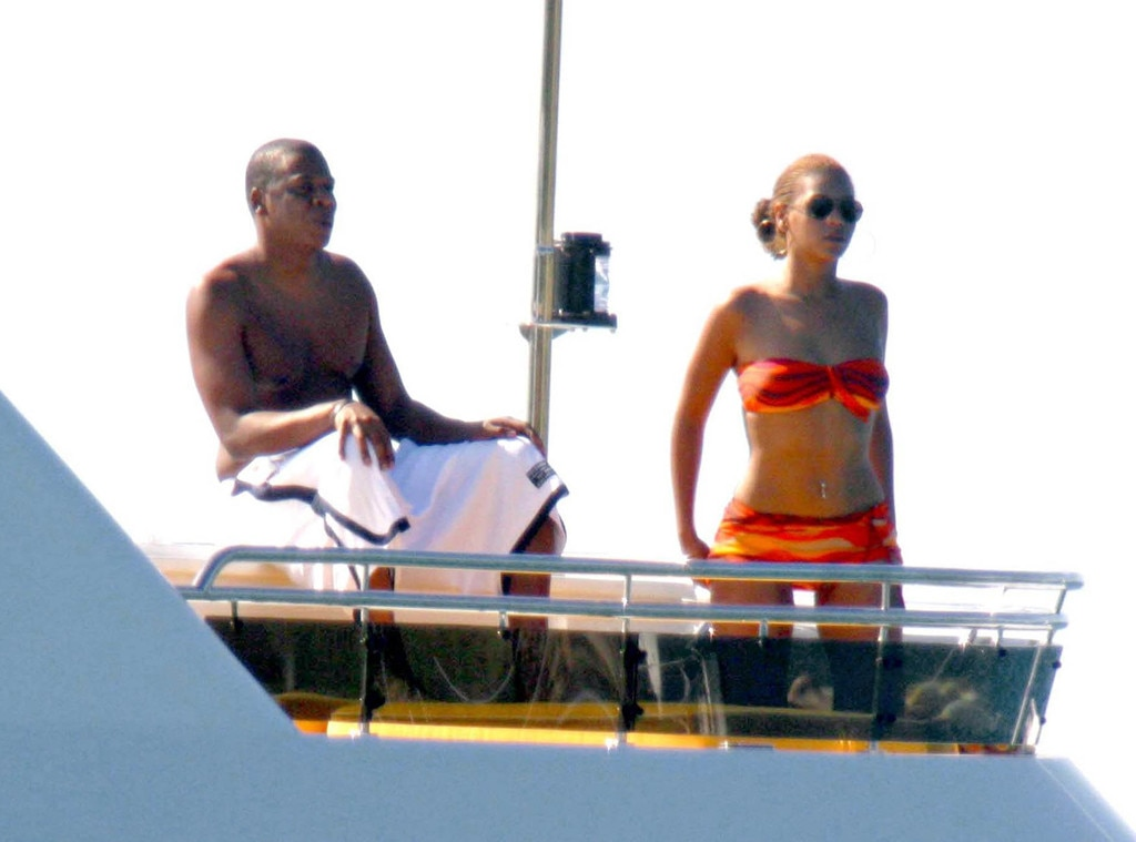 Jay- Z, Beyonce Knowles, St. Barths