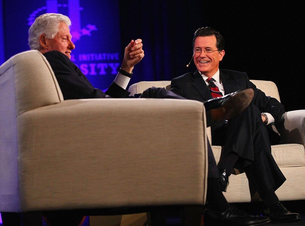 Stephen Colbert, Bill Clinton