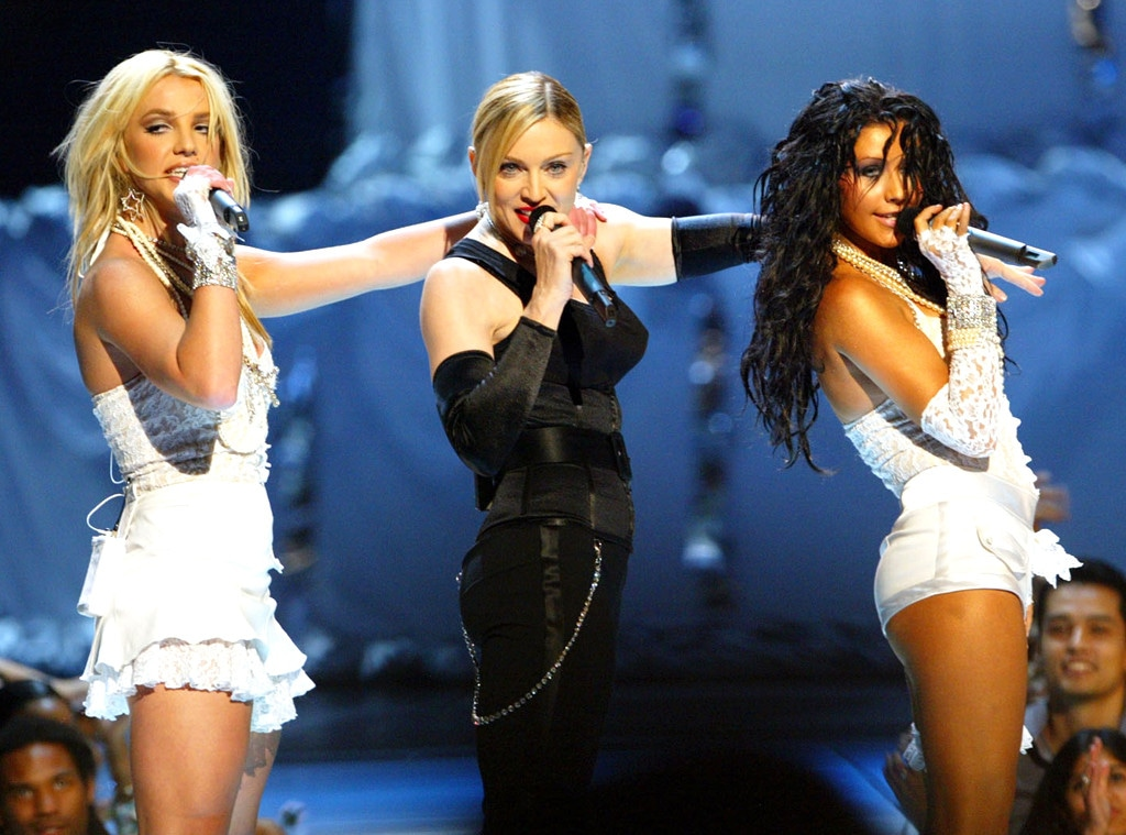 Britney Spears, Madonna, Christina Aguilera, VMA