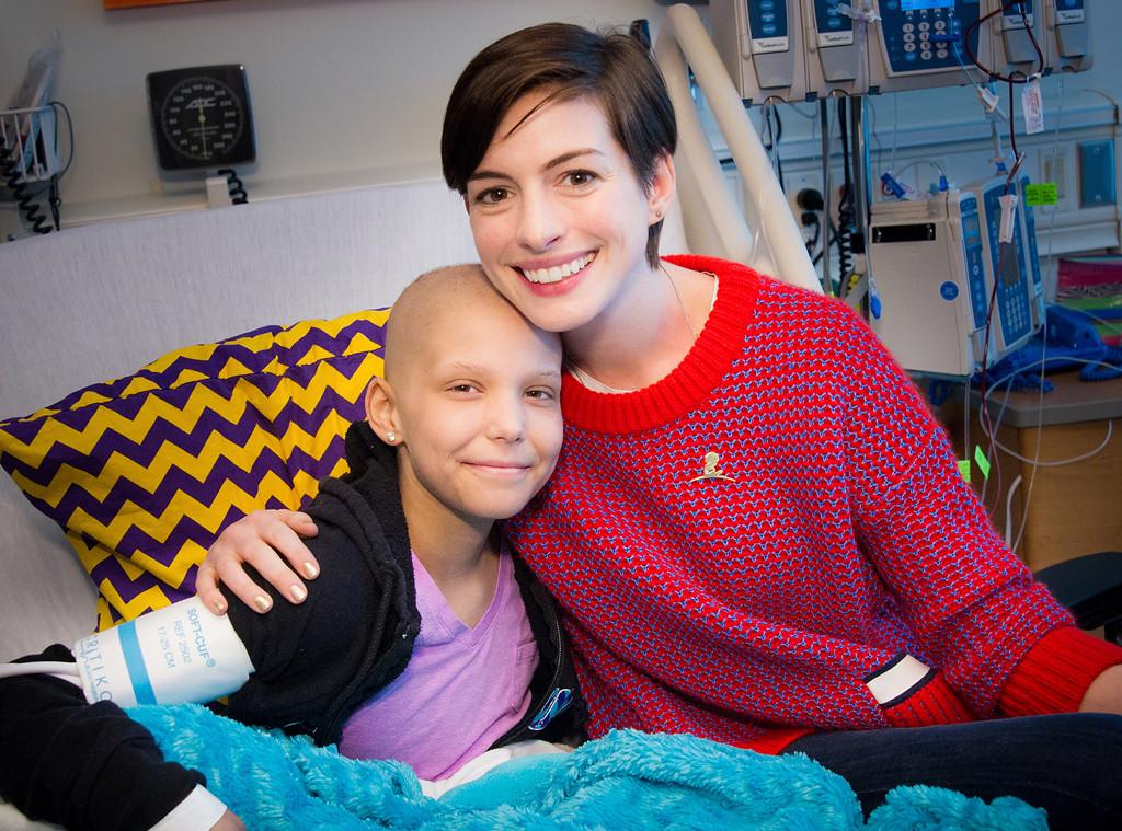 Anne Hathaway, St. Jude Children's Research Hospital