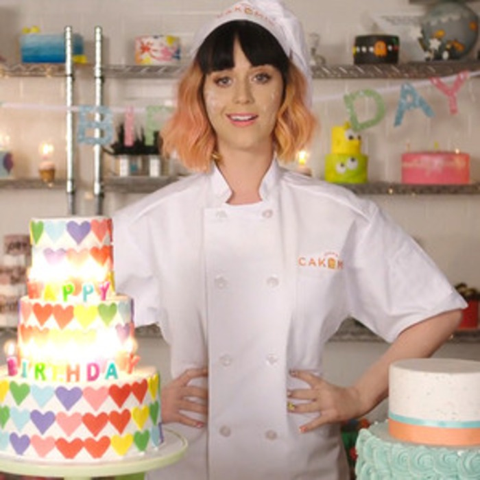 Katy Perry Releases Birthday Lyric Video Watch The Super Sweet