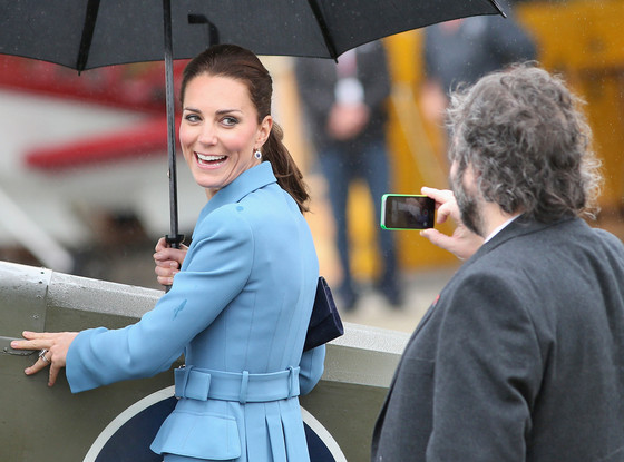 Kate Middleton, Peter Jackson