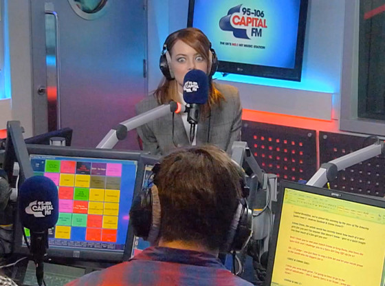 Emma Stone, Capital FM