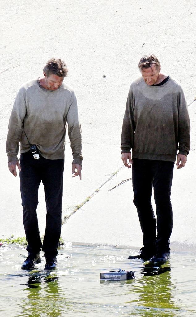 Liam Neeson, Stunt Doubles
