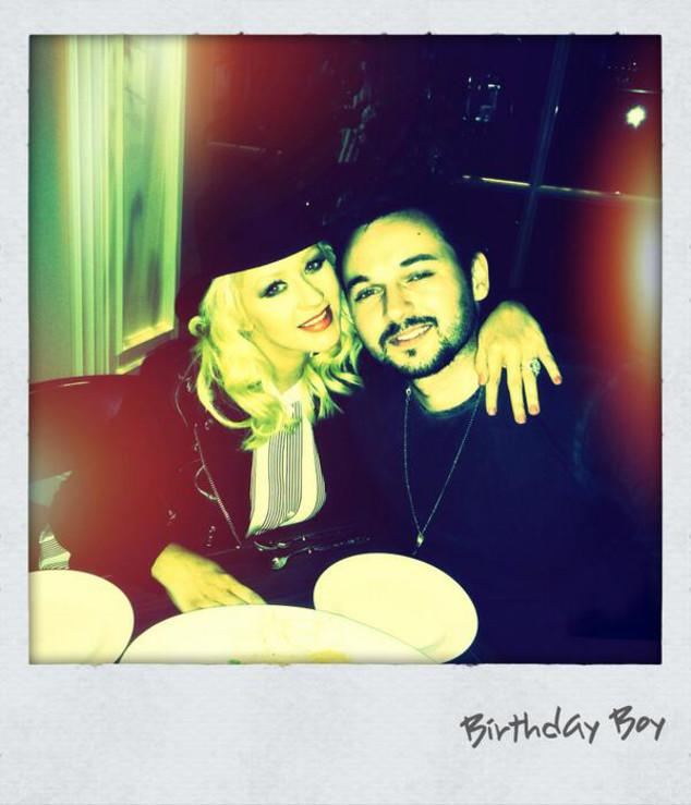 Christina Aguilera, Twit Pic