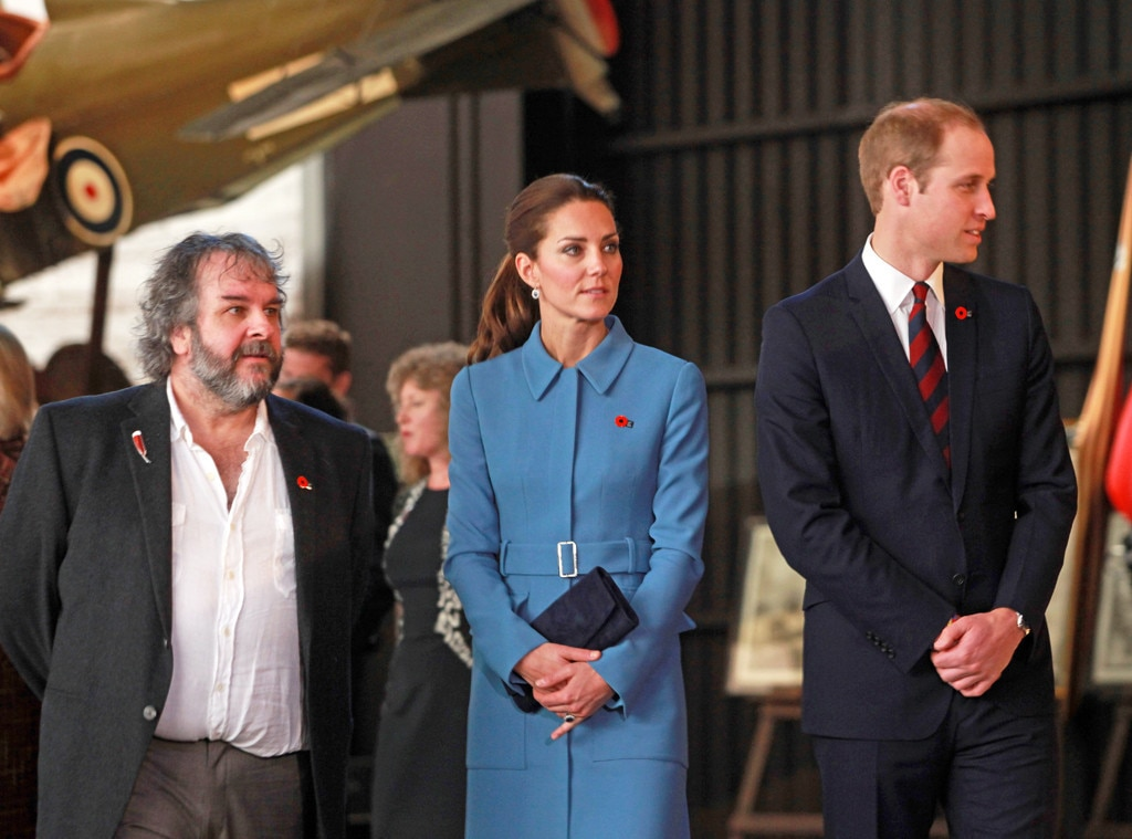 Peter Jackson, Kate Middleton & Prince William from Royal