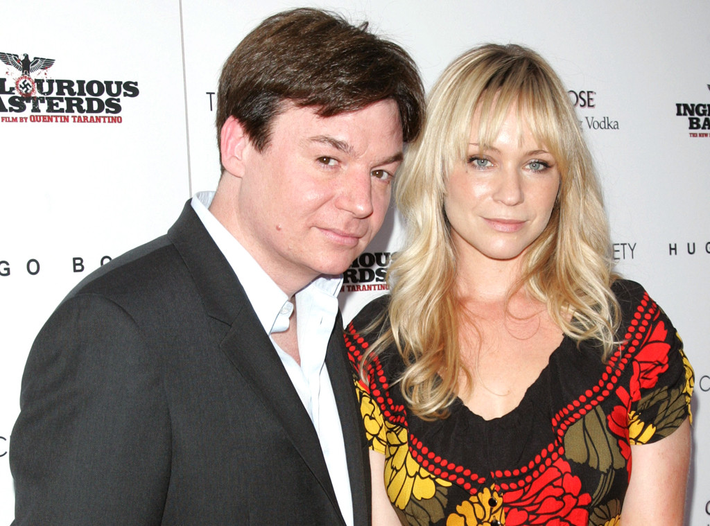 Mike Myers with beautiful, Wife Kelly Tisdale