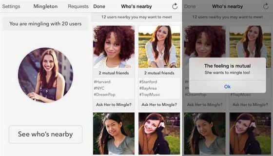 Mingleton, Mingleton app, aplicativo Mingleton