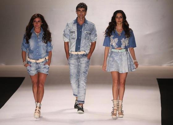 Reynaldo Gianecchini, Giovanna Antonelli, Taina Muller, Fashion Rio, TNG