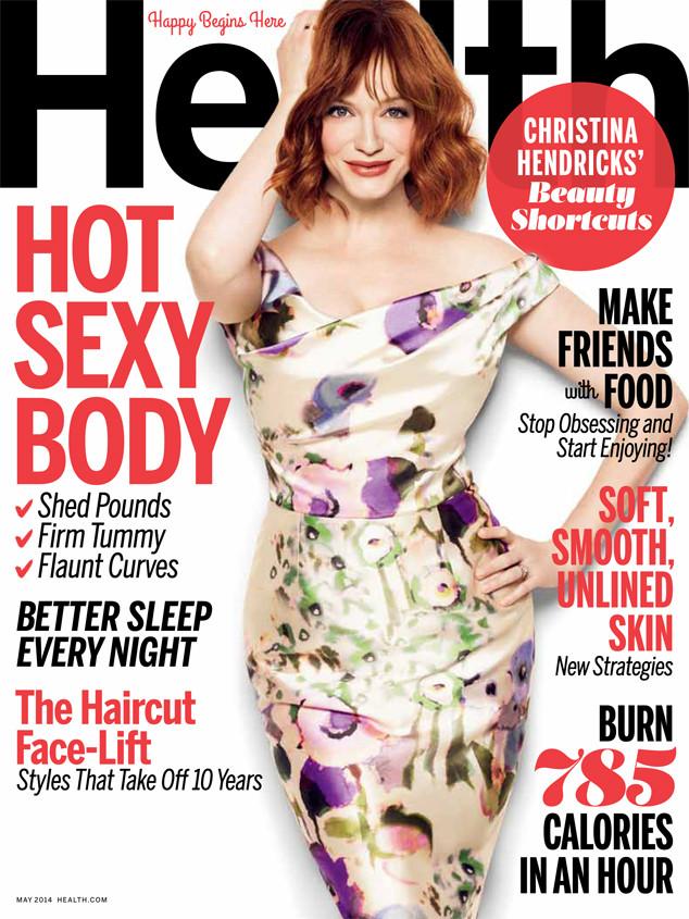 Christina Hendricks, Health Magazine