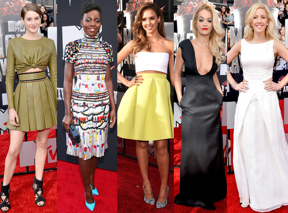 Best Dressed, MTV Movie Awards