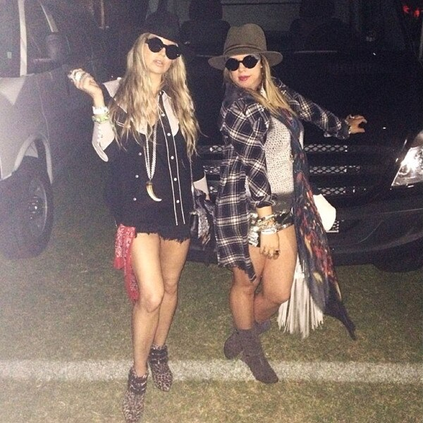Fergie, Instagram, Coachella