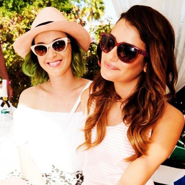Lea Michele, Katy Perry, Instagram, Coachella