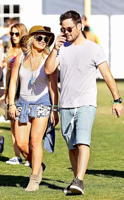 Hilary Duff, Mike Comrie, Coachella