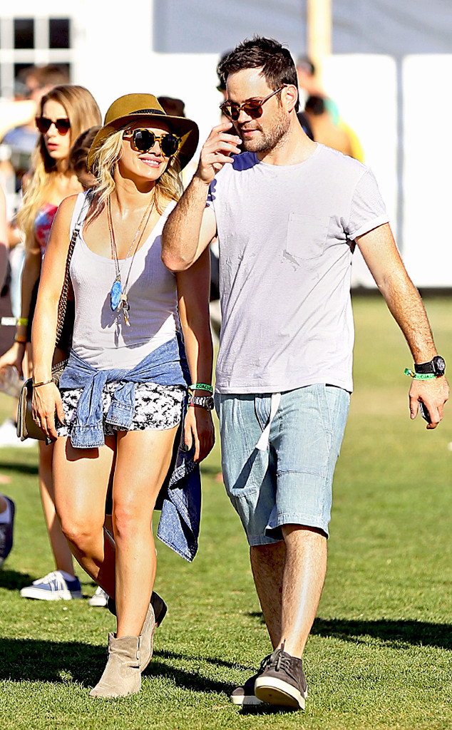 Hilary Duff, Mike Comrie, Coachella