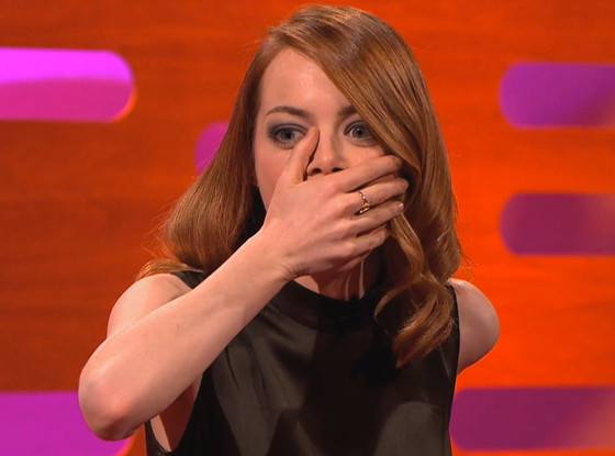 Emma Stone, The Graham Norton Show