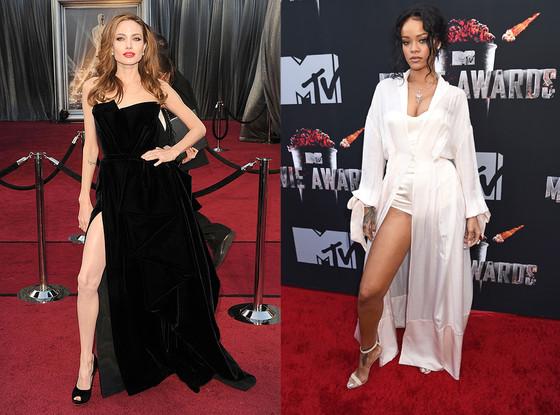 Rihanna, Angeline Jolie