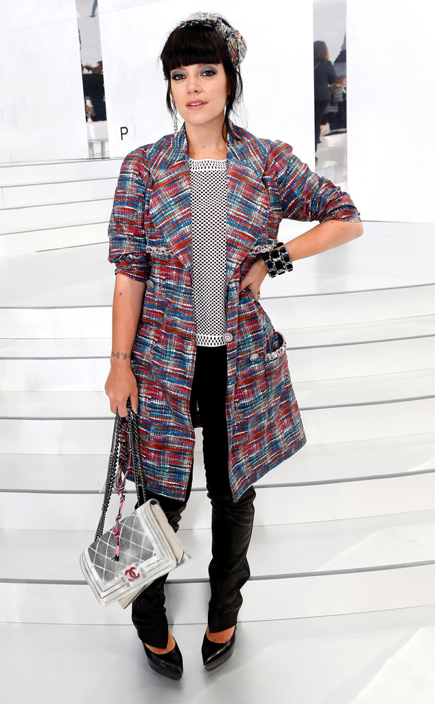 Lily Allen, Paris Fashion Week