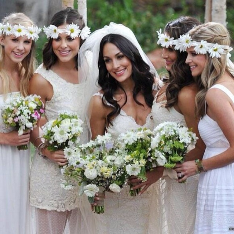 Bridal Party from Brie Bella and Daniel Bryan's Wedding | E! Online