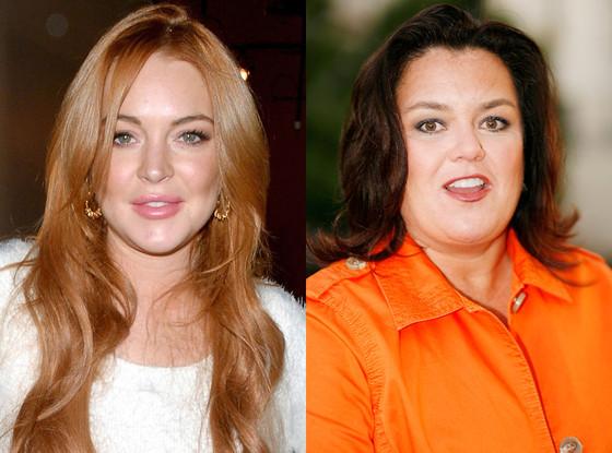 Lindsay Lohan, Rosie O'Donnell