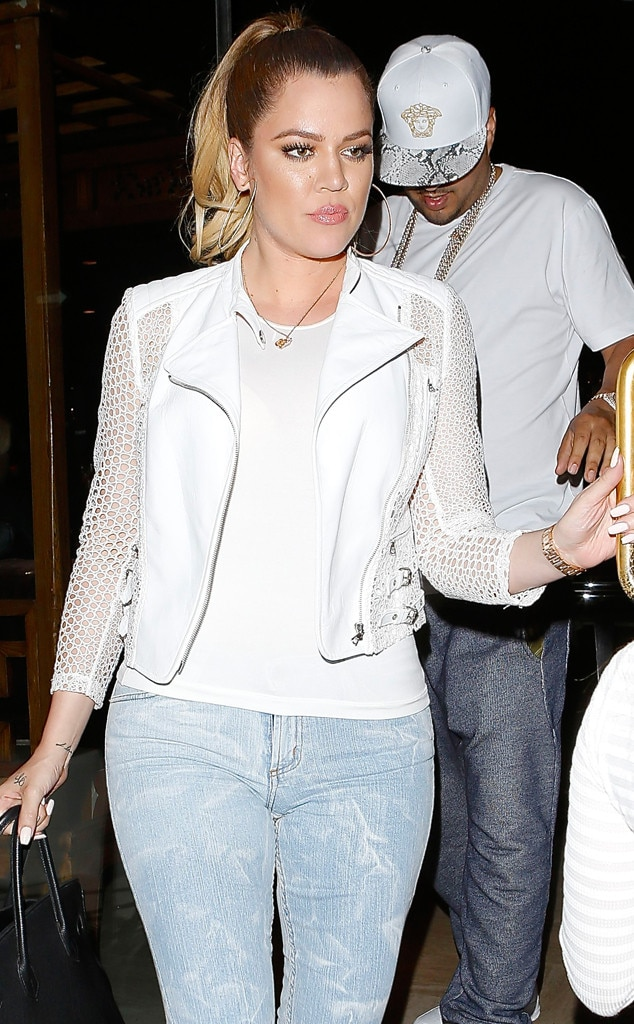 Khloé Kardashian Steps Out for Yet Another Dinner Date With