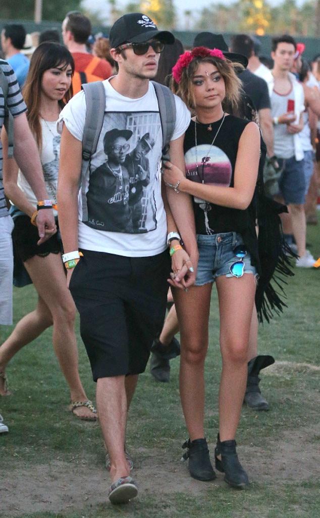 Sarah Hyland, Matt Prokop, Coachella