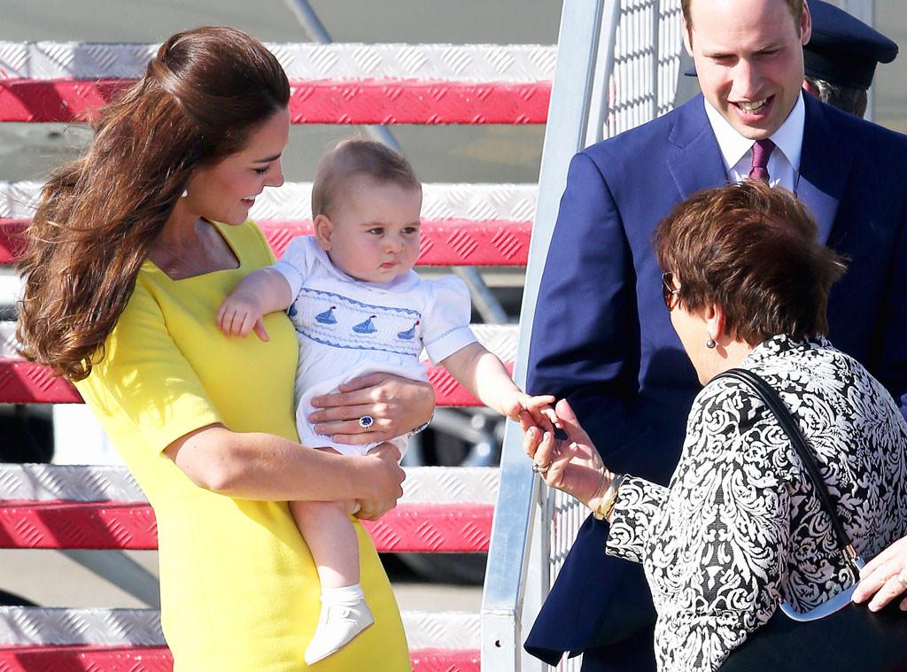 Kate Middleton, Prince William, Prince George, Lynne Cosgrove