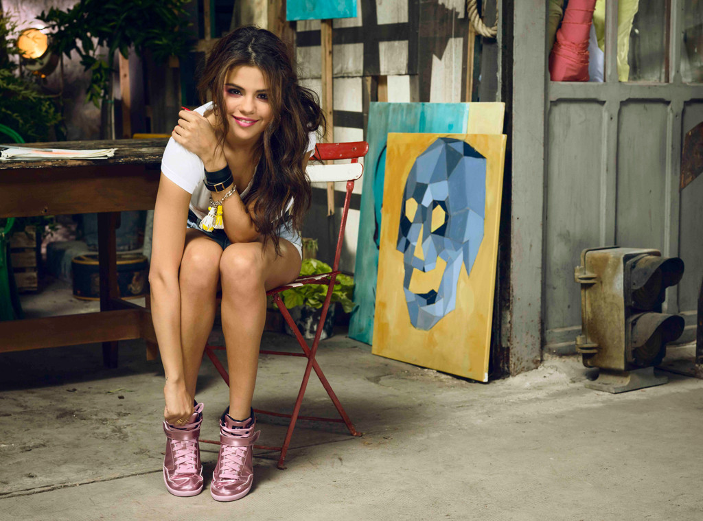 new lifestyle temperament shoes online for sale Selena Gomez Launches New Adidas Neo Collection | E! News France