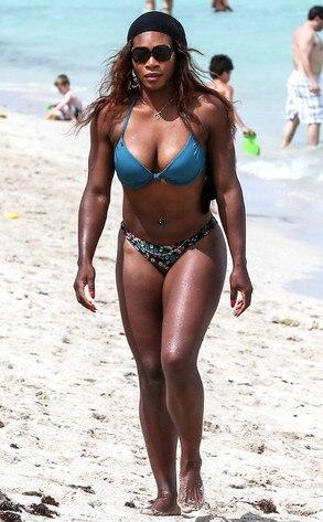 Bikini Serena williams beach