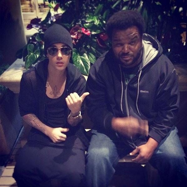 Justin Bieber, Craig Robinson Instagram