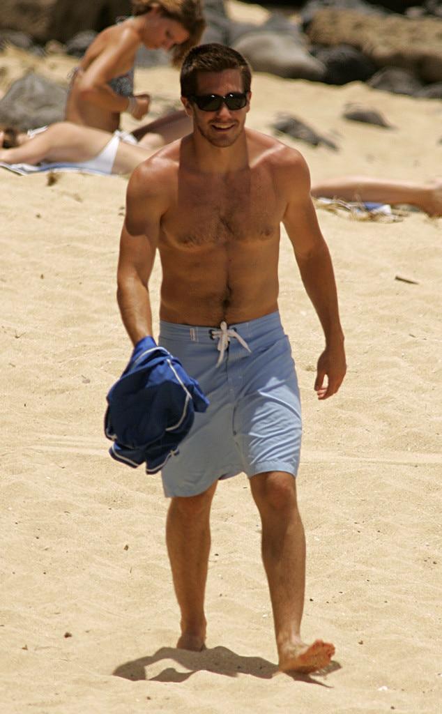 Jake Gyllenhaal, Shirtless