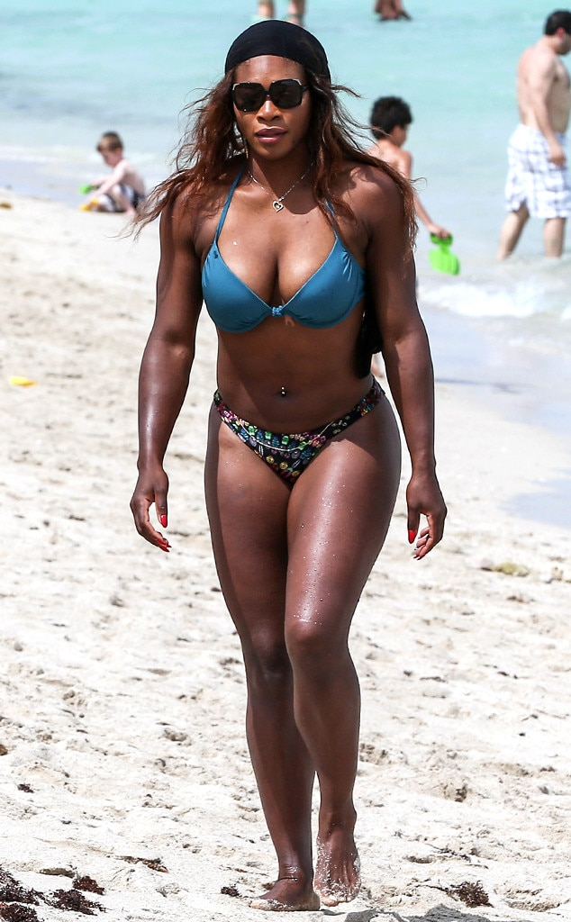 Serena williams topless accept. opinion