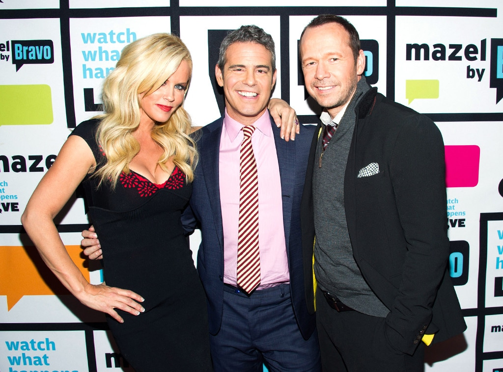 Jenny McCarthy, Andy Cohen, Donnie Wahlberg