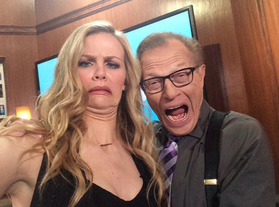 Brooklyn Decker, Larry King