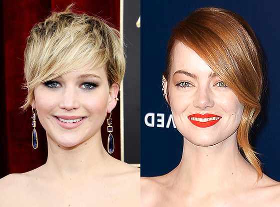 Jennifer Lawrence, Emma Stone
