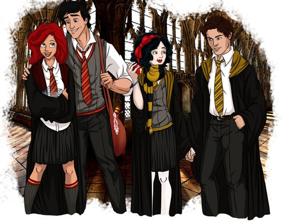 Disney Hogwarts students