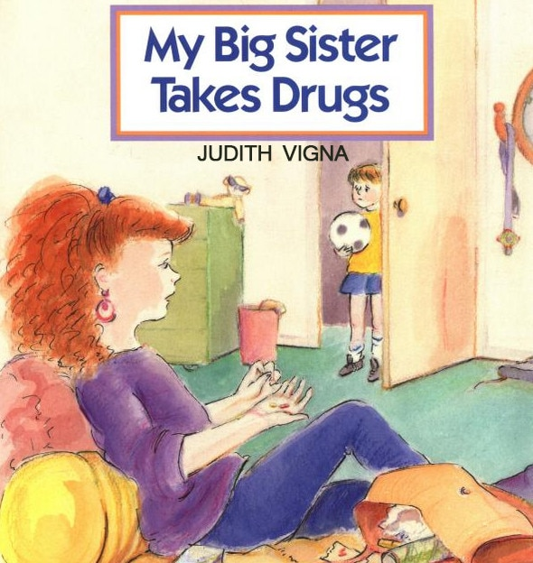 Depression Quotes Books: My Big Sister Takes Drugs From Depressing Children's Books