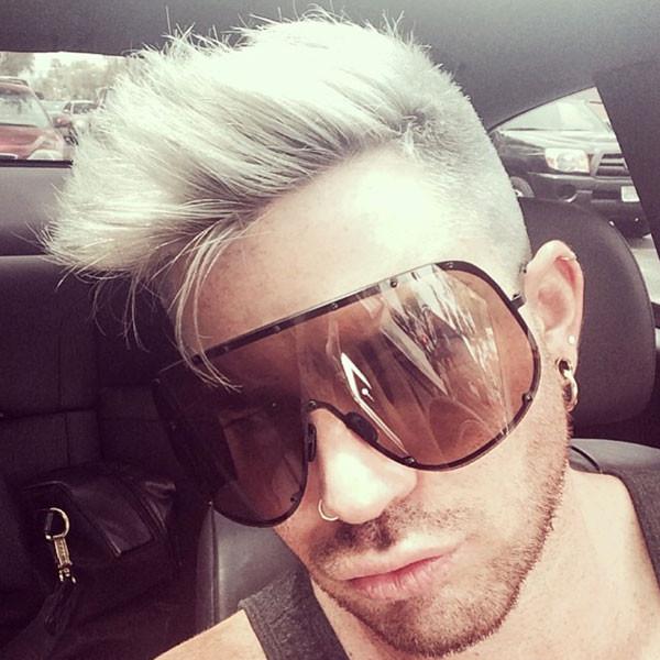 Adam Lambert, Hair