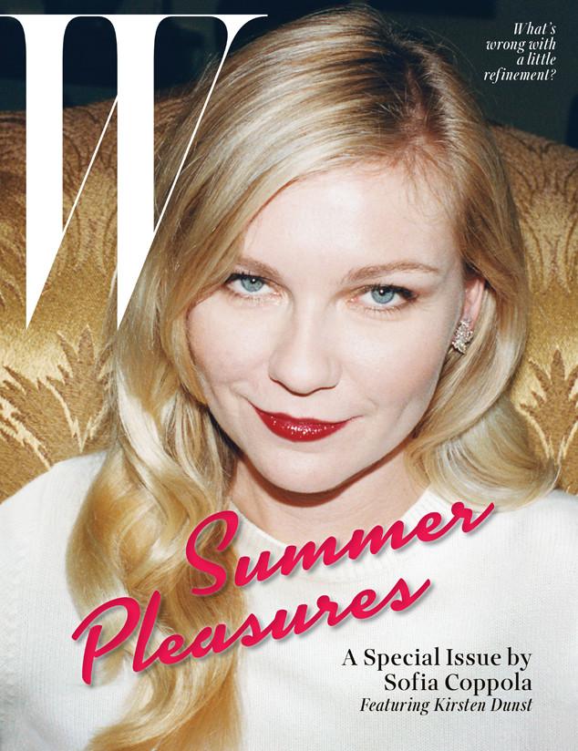 Kirsten Dunst, W Magazine