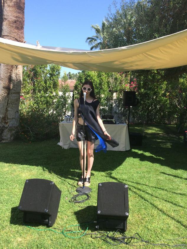 Harley Viera-Newton, Coachella