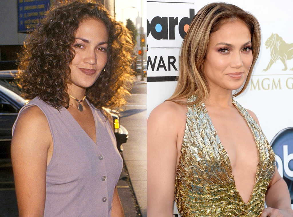 Jennifer Lopez, Then and Now