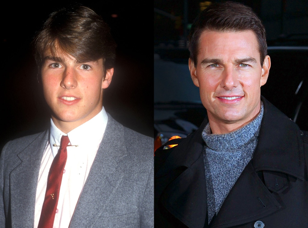 Tom Cruise, Then and Now