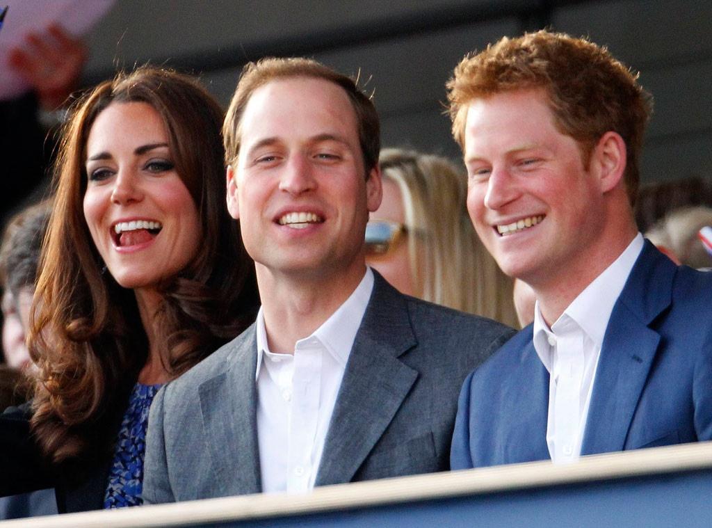 Kate Duchess of Cambridge, Prince William, Prince Harry
